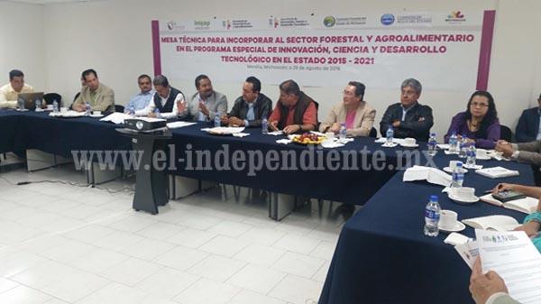 Construyen agenda para la innovación del sector agroalimentario y forestal