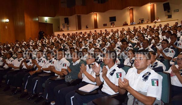 Cumple SSP con el Plan Estratégico de Capacitación Policial