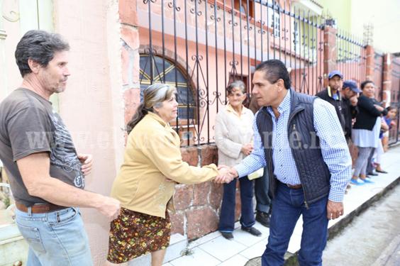Compromete Gobernador apoyo a Cotija