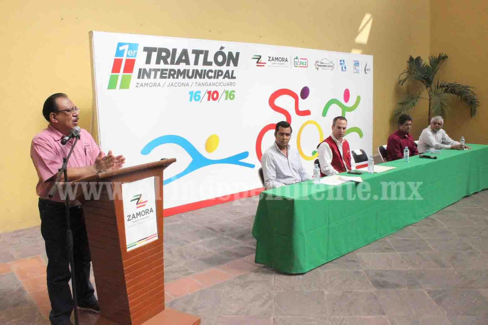 Anuncian Primer Triatlón Intermunicipal