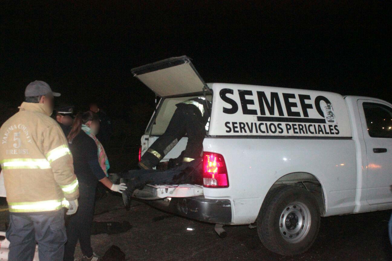 Impactan 2 vehículos en Villamar, hay una muerta y dos lesionados
