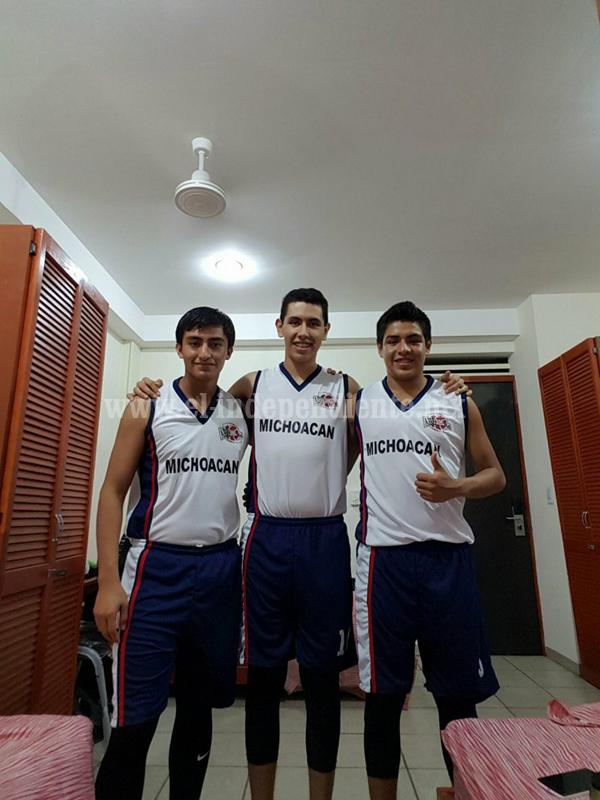 Zamoranos incluidos en selección Michoacán de basquetbol