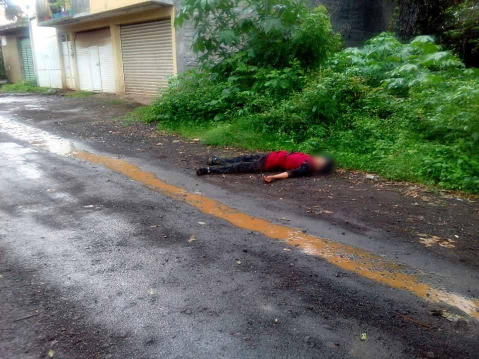 Asesinan a balazos a un hombre en Tacámbaro