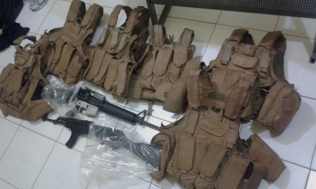 Tras enfrentamiento SSP asegura armamento, vehículos y equipo táctico en Tiquicheo