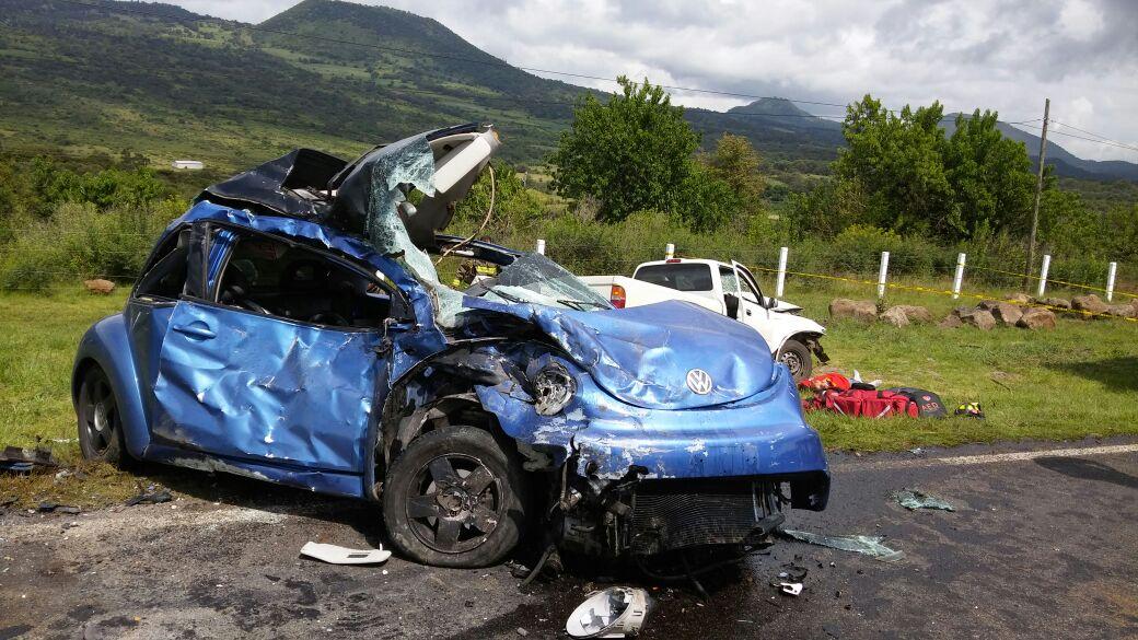 Tragedia en la Morelia-Quiroga: Un muerto y 3 heridos en choque