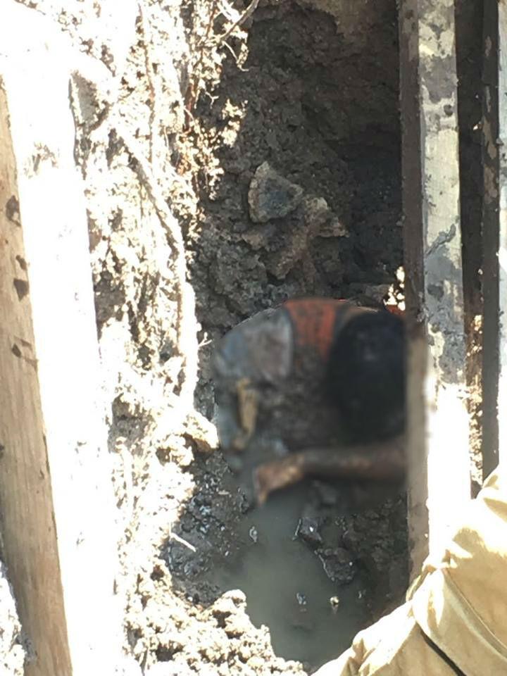 Obrero fallece sepultado por un alud de tierra mientras trabajaba en un drenaje