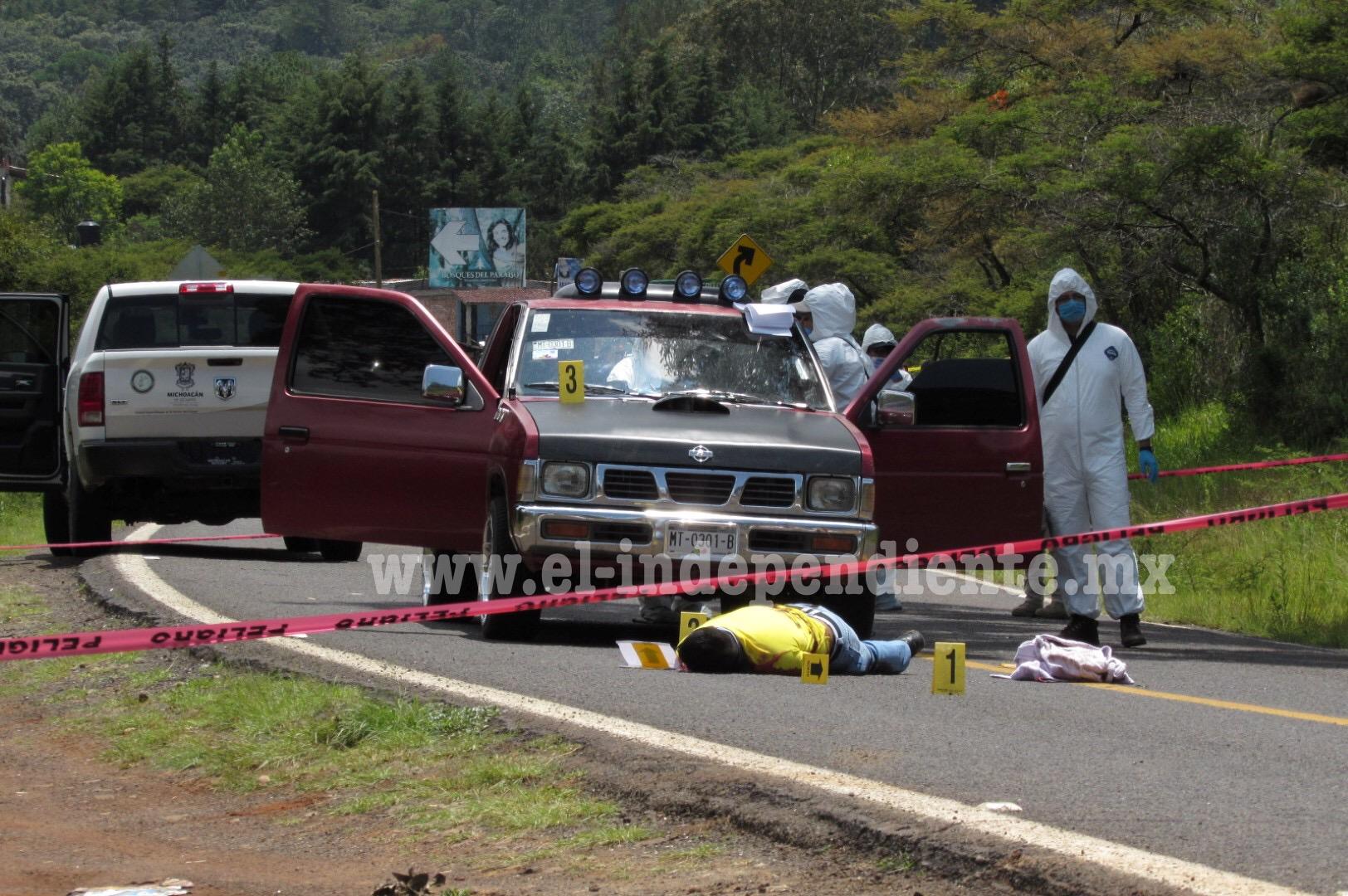Director de SP de Tiquicheo es  muerto en un atentado a tiros