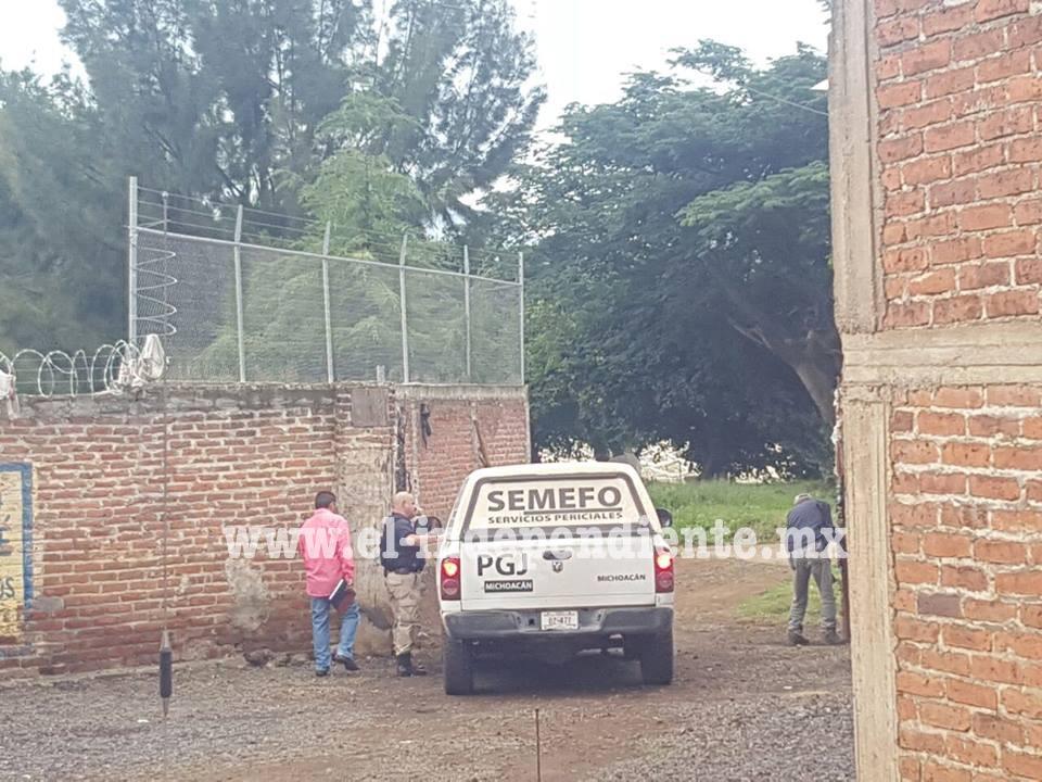 Encuentran hombre asesinado en un canal de aguas de la colonia Casas de Alto en Zamora