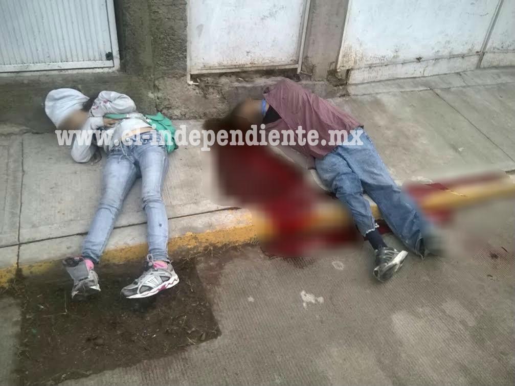 Dan muerte a balazos a una pareja en la colonia Vasco de Quiroga, en La Piedad