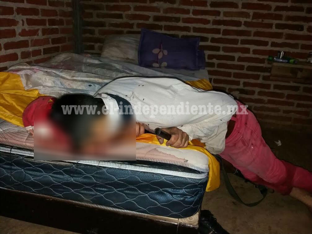 Autoridades investigan presunto suicidio de un menor de edad en Peribán