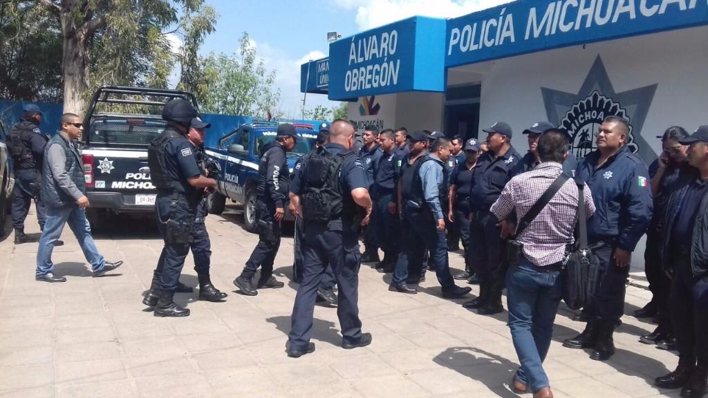 Toma SSP el mando de la seguridad en Álvaro Obregón