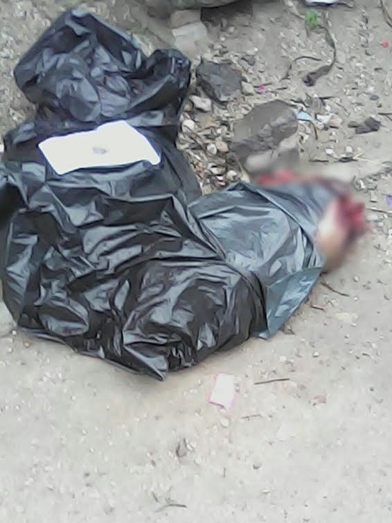 """Hallan cadáver descuartizado en 2 bolsas de plástico; le dejaron un """"narcomensaje"""""""