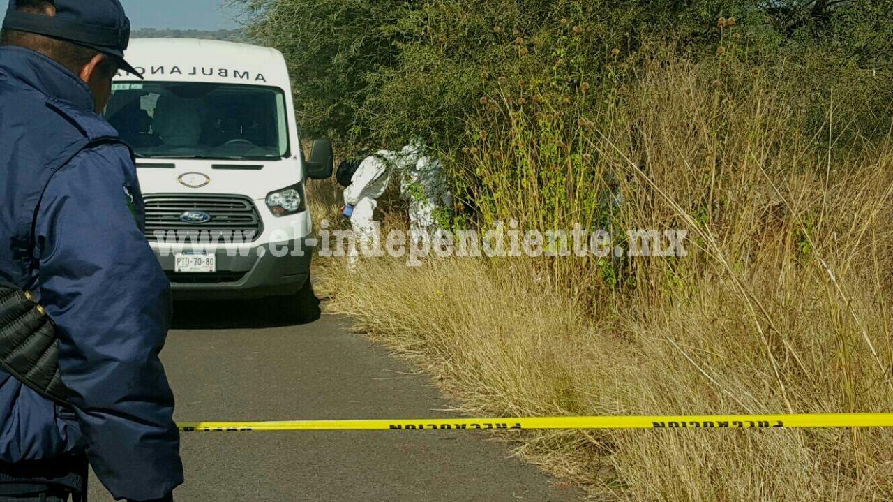 Reyense es encontrado asesinado en Tangancícuaro