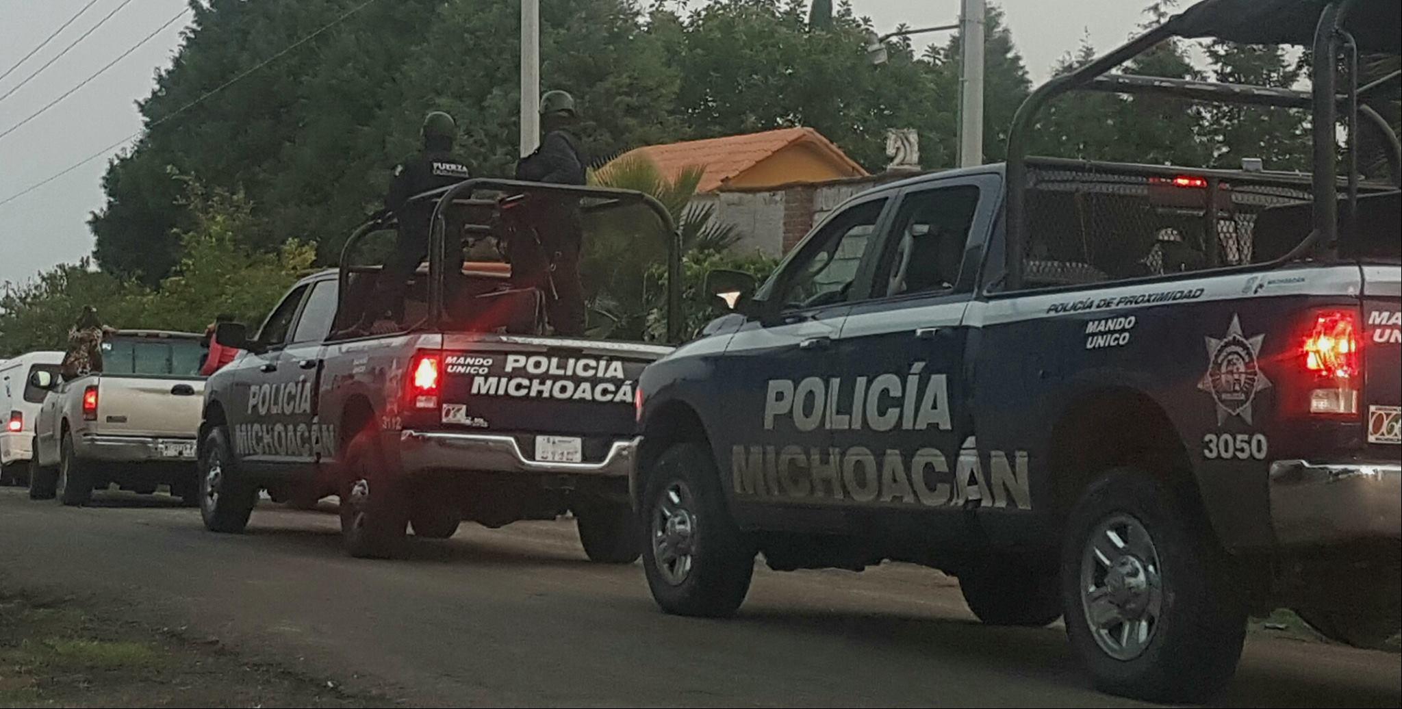 Prófugos dos policías de Álvaro Obregón por el múltiple homicidio en Cuitzeo: Fuentes oficiales