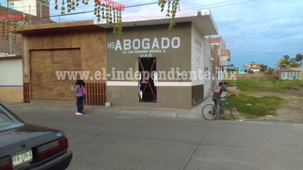 Matan a tiros a un profesionista dentro de su oficina en Sahuayo