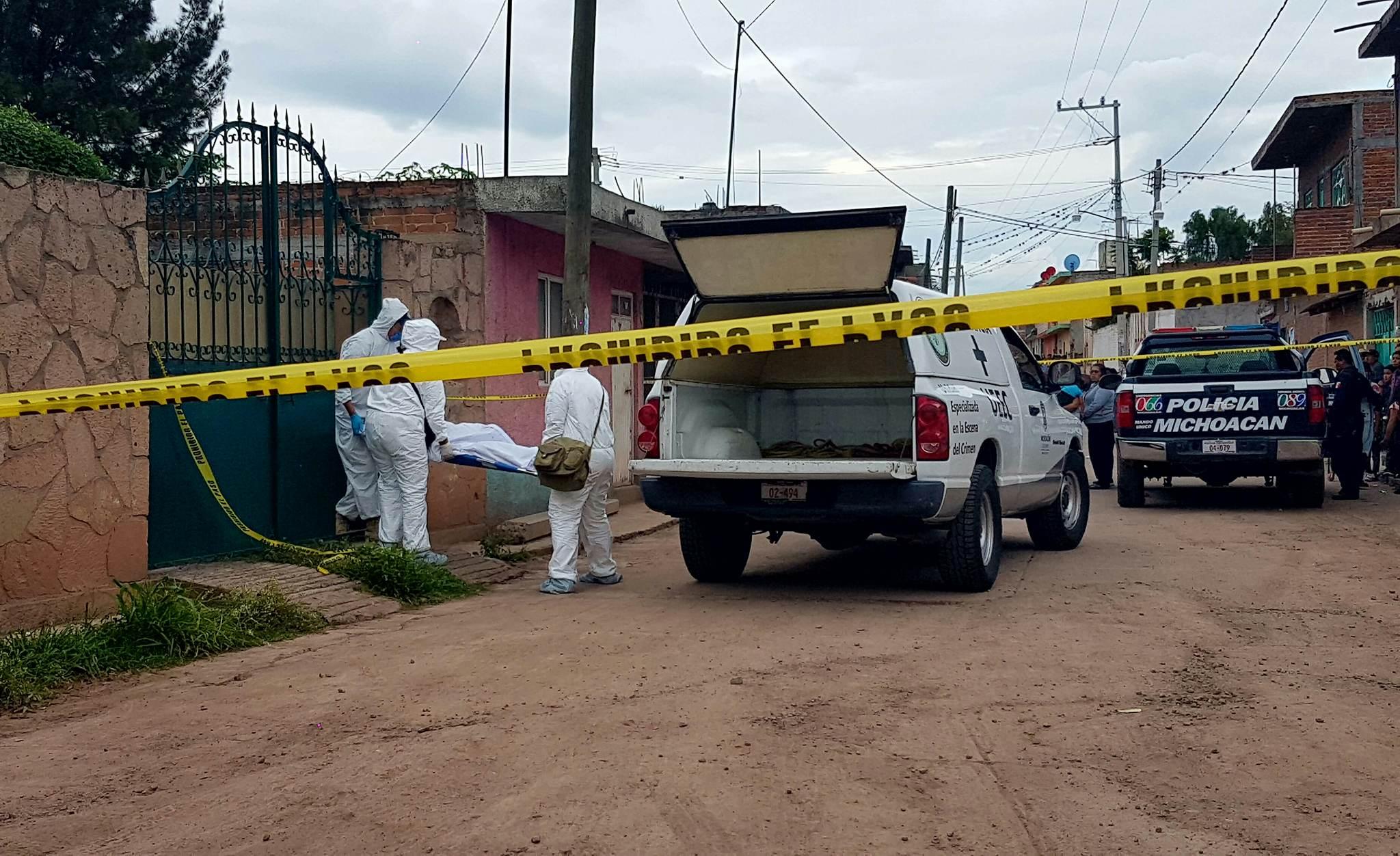 UEEC captura a presunto parricida en pronta movilización, en Cuitzeo