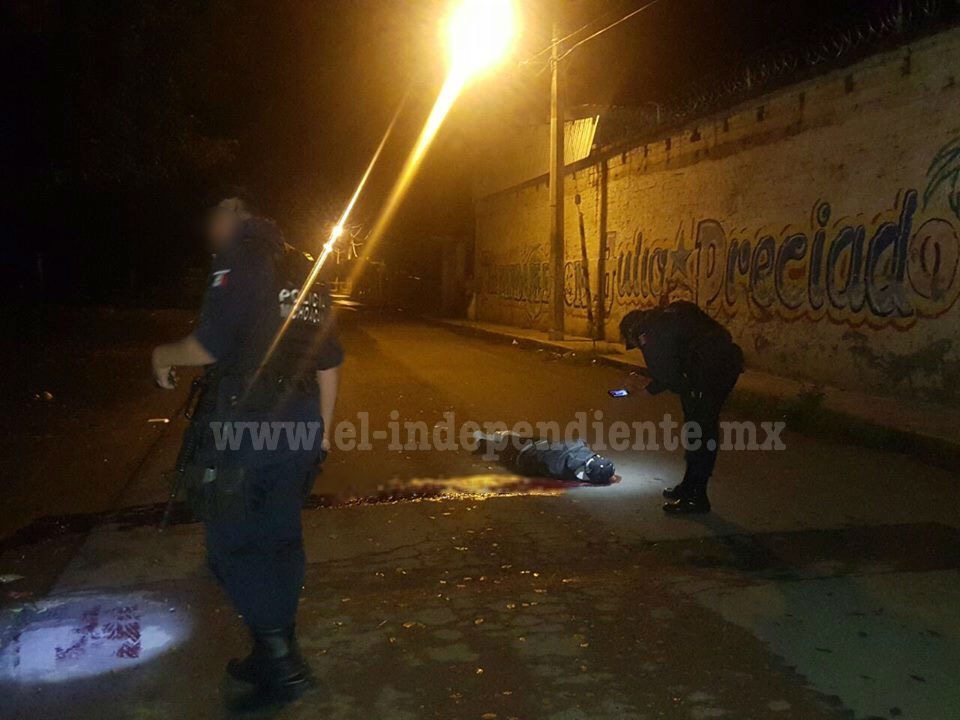 Joven es asesinado a balazos en la comunidad de Romero de Torres
