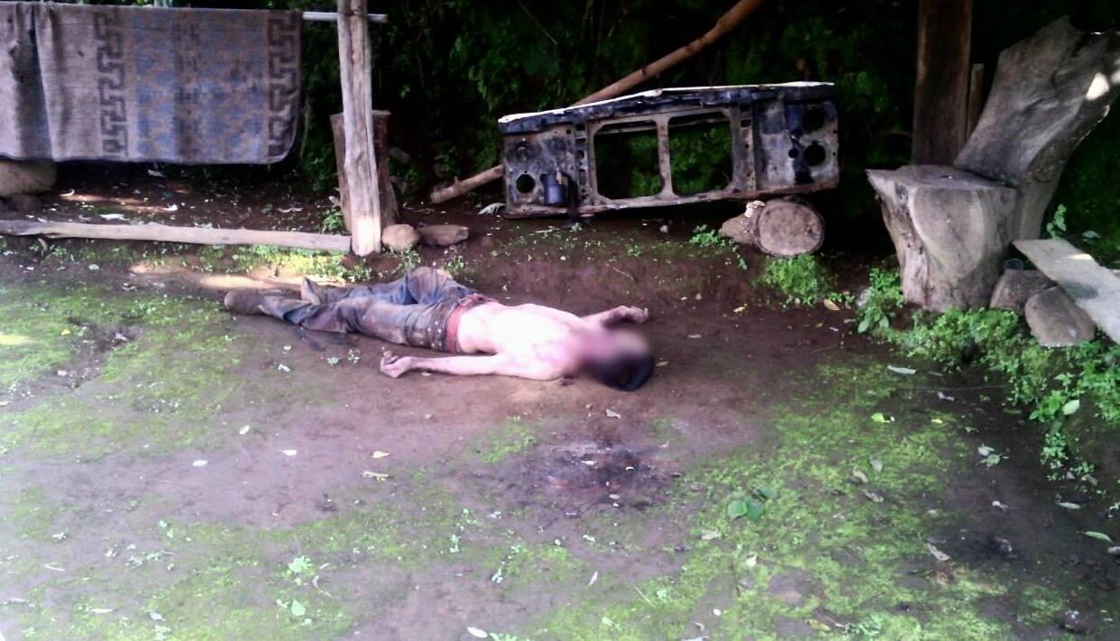 Localizan cadáver de un hombre degollado