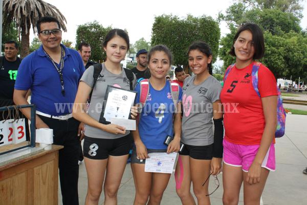 Spikes en femenil y el Tec de Jiquilpan en varonil, Campeones del Torneo de Copa de la Liga Zamorana de Voleibol