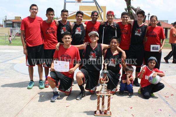 Dreams Bicampeón del Torneo de Verano de la Liga Infantil y Juvenil de Basquetbol Jacona