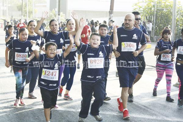 Un éxito, la 4a Carrera Atlética por la Seguridad de Michoacán ¡Corre con tu Policía