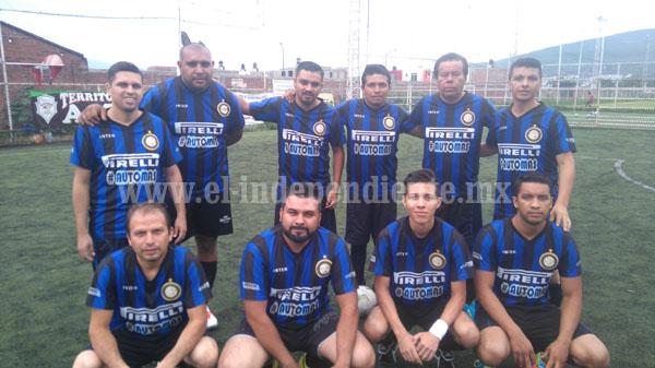 Torneo empresarial de fútbol 7 se encuentra en su fase final