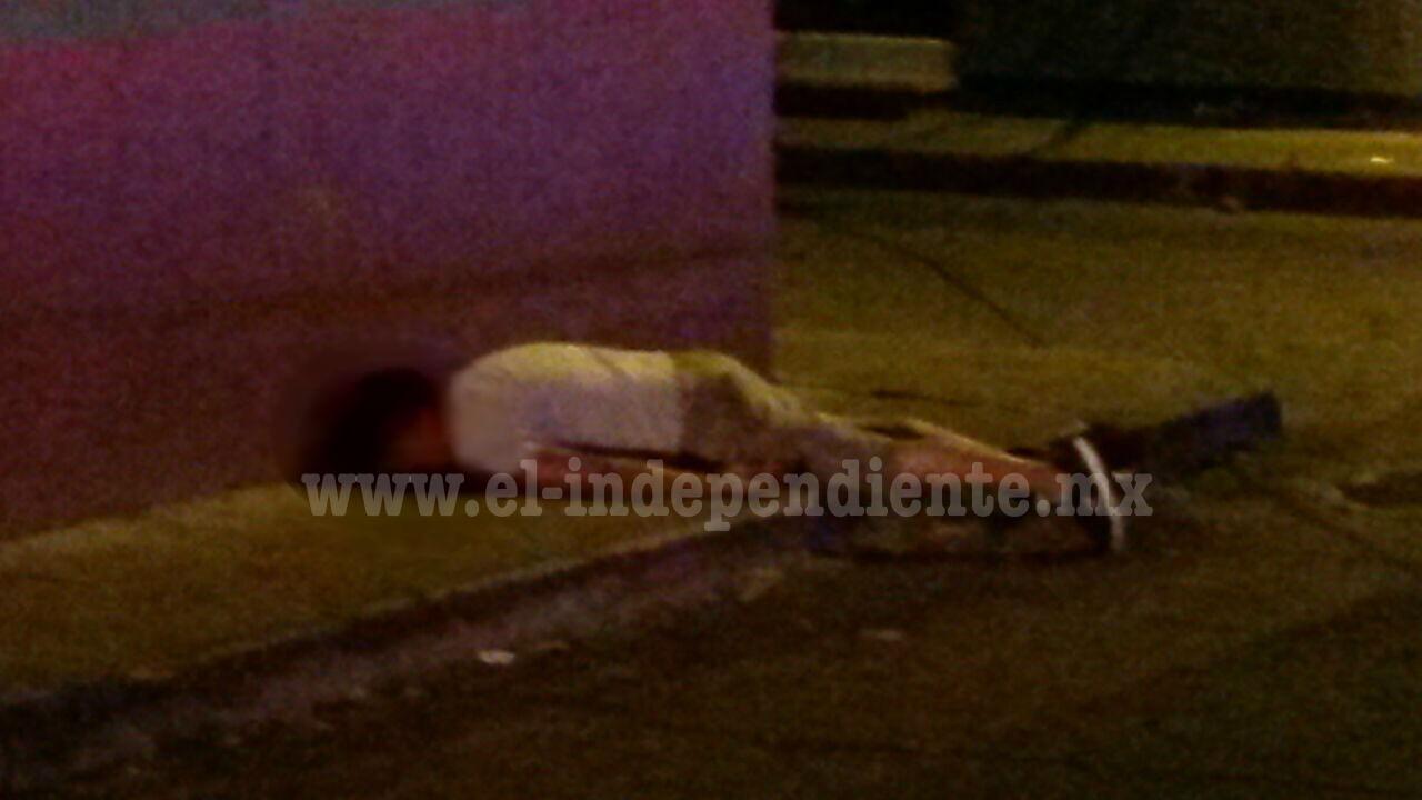 Ciudadano es asesinado a balazos en el Centro de Jacona