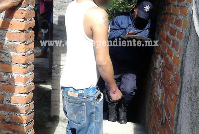 Encuentran a un hombre ahorcado en un domicilio de Carapan