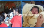 Encuentran a un recién nacido abandonado en un templo de Los Reyes