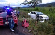 De nueva cuenta arrancones en Tocumbo terminan con accidente
