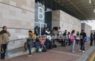 Por temor a normalistas líneas de autobuses cancelan corridas