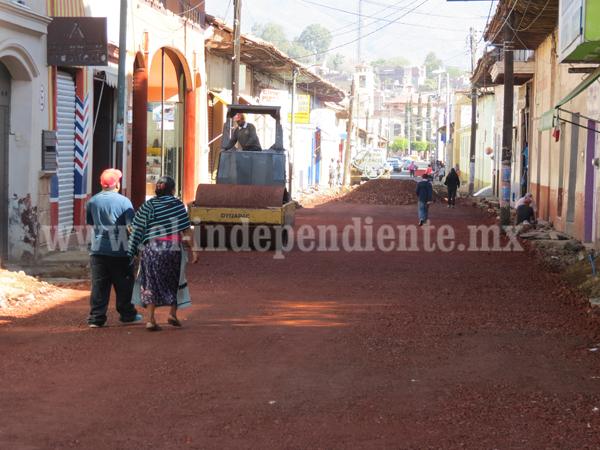 Invertirán más de 50 mdp en obras para Tangancícuaro