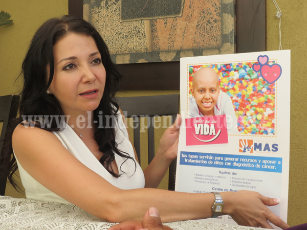 Buscan colectar tapas para regalar quimioterapias a niños con cáncer