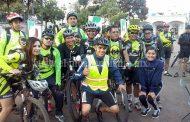 Exitoso en participación el primer paseo ciclista de montaña