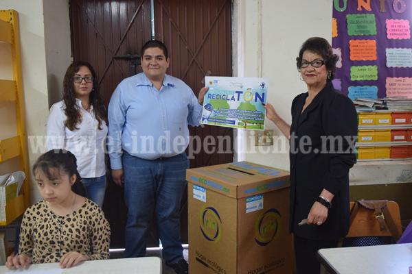 Fomentan cultura ambiental con Reciclatón 2016 en Tangancícuaro