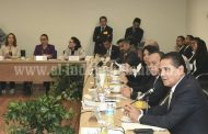 Encabeza gobernador reunión con diputados federales para gestionar aumento a 25% participaciones federales