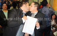 Zamora a la cabeza en matrimonios homosexuales en la región