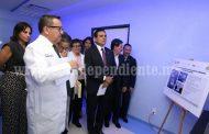 Inaugura gobernador Banco de Leche y Tomógrafo en Hospital de la Mujer