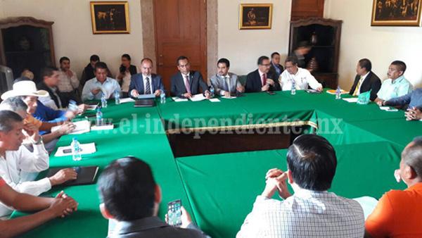 El Gobierno del Estado y el Consejo Supremo Indígena establecen mesa de trabajo