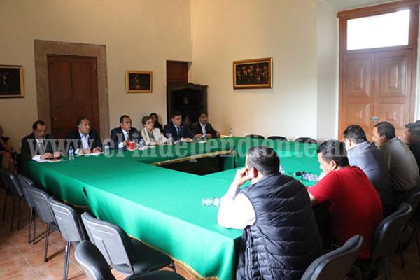Instala el Gobierno del Estado mesa de diálogo con la CNTE