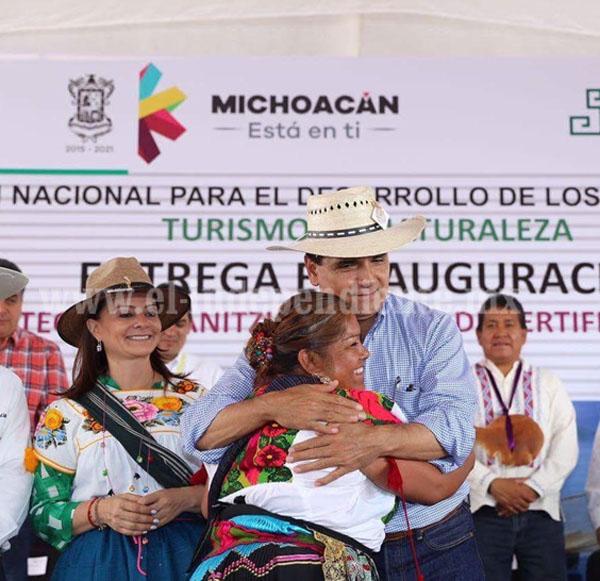 El Gobierno del Estado ha impulsado el desarrollo de los pueblos originarios: SPI