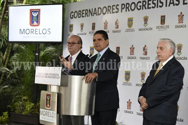 Presenta Silvano Aureoles propuesta para aumentar a 25% las participaciones para Estados y Municipios