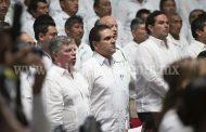 Asiste Silvano Aureoles a toma de protesta de Gobernador de Quintana Roo