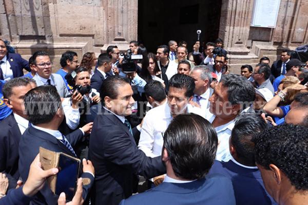 Juntos, vamos muy bien en Michoacán: Silvano Aureoles