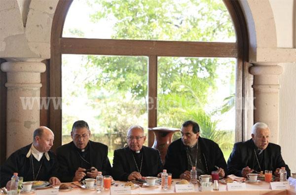 Presenta GCM avances en materia de seguridad a Obispos
