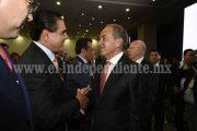 Silvano Aureoles, invitado especial al informe del Gobernador de SLP