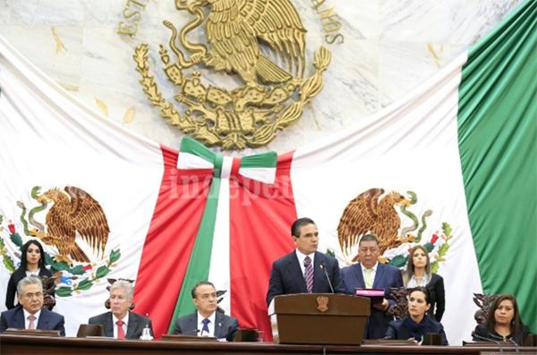Dispuesto a regresar para aclarar dudas al Legislativo: Gobernador