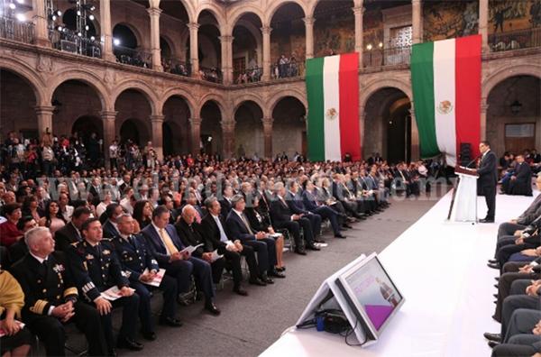 Mi objetivo más importante, construir un mejor futuro para Michoacán: Silvano Aureoles