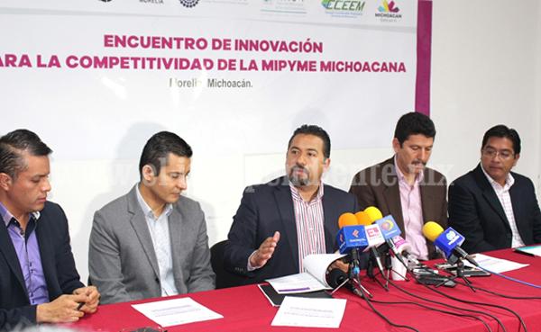 Hoy, el Encuentro de Innovación para la Competitividad de la Mipyme Michoacana