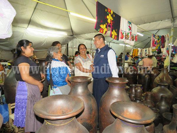 El Gobierno del Estado, comprometido con el desarrollo de las y los artesanos